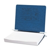 "ACCO PRESSTEX Covers w/Storage Hooks, 6"" Cap, Dark Blue"