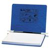 "ACCO PRESSTEX Covers w/Storage Hooks, 6"" Cap, 12 x 8 1/2, Dark Blue"