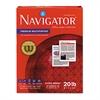 Navigator Premium Multipurpose Paper, 97 Brightness, 20lb, 8-1/2x11, White, 5000/Carton