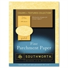Parchment Specialty Paper, Gold, 24lb, 8 1/2 x 11, 100 Sheets