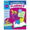 Teacher Created Resources Activities for Fluency, Grades 3 to 4, 144 Pages