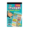 TREND Sticker Assortment Pack, Animal Antics, 738 Stickers/Pad