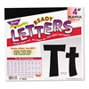 "TREND Ready Letters Playful Combo Set, Black, 4""h, 216/Set"