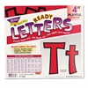 "Ready Letters Playful Combo Set, Red, 4""h, 216/Set"