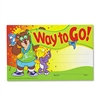 Recognition Awards, Way to Go!, 8-1/2w x 5-1/2h, 30/Pack