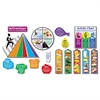 TREND MyPyramid.gov-Steps to a Healthier You Bulletin Board Set, 16/Set