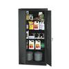 "Tennsco 72"" High Standard Cabinet, 36w x 18d x 72h, Black"