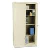 "Tennsco 72"" High Standard Cabinet, 36w x 18d x 72h, Putty"