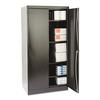 "Tennsco 72"" High Standard Cabinet, 36w x 24d x 72h, Black"
