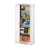 "78"" High Deluxe Cabinet, 36w x 18d x 78h, Light Gray"