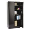 "Tennsco 78"" High Deluxe Cabinet, 36w x 24d x 78h, Black"