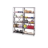 "Tennsco Industrial Steel Shelving for 87"" High Posts, 48w x 24d, Medium Gray, 6/Carton"