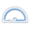 Westcott Soft Touch School Protractor With Microban Protection, Assorted Colors