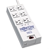 Tripp Lite TR-6 Surge Suppressor, 6 Outlets, 6 ft Cord, 2420 Joules, Gray