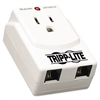 TRAVELCUBE Direct Plug-In Notebook Surge Suppressor, 1 Outlet, 540 Joules, Gray