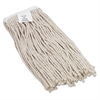 Boardwalk Cut-End Wet Mop Head, Cotton, No. 16 Size, White
