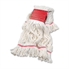 Boardwalk Super Loop Wet Mop Head, Cotton/Synthetic, Large Size, White