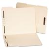 Universal Deluxe Reinforced Top Tab Folders, 2 Fasteners, 1/3 Tab, Letter, Manila, 50/Box