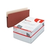 Universal 3 1/2 Inch Expansion File Pockets, Straight Tab, Legal, Redrope/Manila, 25/Box