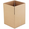 Brown Corrugated - Fixed-Depth Shipping Boxes, 18l x 18w x 16h, 15/Bundle