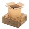 General Supply Brown Corrugated - Cubed Fixed-Depth Shipping Boxes, 12l x 12w x 12h, 25/Bundle