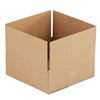 Brown Corrugated - Fixed-Depth Shipping Boxes, 12l x 12w x 4h, 25/Bundle