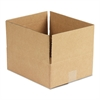 Brown Corrugated - Fixed-Depth Shipping Boxes, 12l x 10w x 4h, 25/Bundle