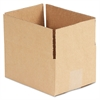 General Supply Brown Corrugated - Fixed-Depth Shipping Boxes, 8l x 6w x 4h, 25/Bundle
