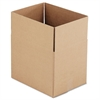 General Supply Brown Corrugated - Fixed-Depth Shipping Boxes, 16l x 12w x 12h, 25/Bundle