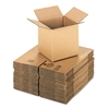 General Supply Brown Corrugated - Cubed Fixed-Depth Shipping Boxes, 8l x 8w x 8h, 25/Bundle