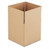 General Supply Brown Corrugated - Cubed Fixed-Depth Shipping Boxes, 14l x 14w x 14h, 25/Bundle