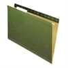 Universal Reinforced Recycled Hanging Folder, 1/3 Cut, Legal, Standard Green, 25/Box