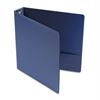 "Economy Non-View Round Ring Binder, 1-1/2"" Capacity, Royal Blue"