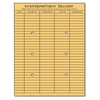 Light Brown Kraft String & Button Interoffice Envelope, 10 x 13, 100/Box