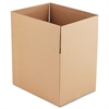 Brown Corrugated - Fixed-Depth Shipping Boxes, 24l x 18w x 18h, 10/Bundle