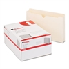Economical File Jackets with Two Inch Expansion, Legal, 11 Point Manila, 50/Box