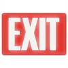 Headline Sign Glow In The Dark Sign, 8 x 12, Red Glow, Exit