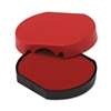 Trodat T46140 Dater Replacement Pad, 1 5/8, Red