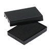 Identity Group Trodat T4729 Dater Replacement Pad, 1 9/16 x 2, Black