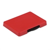Identity Group Trodat T5460 Dater Replacement Ink Pad, 1 3/8 x 2 3/8, Red