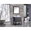 "Norway 30"" Single Sink Bathroom Vanity Set, Espresso"