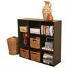 Venture Horizon Project Center Bookcase, 39 x 11-1/2 x 36, Walnut
