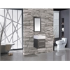 """MTD Vanities Nepal 18"""" Single Sink Wall Mounted Bathroom Vanity Set, Espresso"""