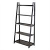 Winsome Wood Adam 5-Tier A-Frame Shelf, 27.87 x 12.99 x 58.03, Black