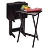 Winsome Wood Alex 5-Pc Tv Table Set Black, 19.06 x 14.57 x 25.98, Black