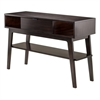 Winsome Wood Monty Console Table, 45 x 15.91 x 30, Smoke