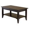 Winsome Wood Nolan Coffee Table, 37 x 21.02 x 18.03, Cappuccino