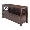 Winsome Wood Xola Tv Stand, 44.02 x 15.94 x 24.02, Cappuccino