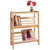 Winsome Wood Juliet Book Shelf, 24 x 10 x 30.1, Natural