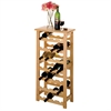 Winsome Wood Napa Wine Rack, 18.5 x 10.2 x 37, Beech